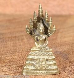 AMULETTE naga BOUDDHA - STATUETTE BOUDHA - Statue en laiton TALISMAN 30 modèles