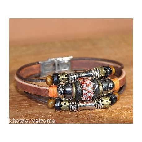 bracelet cuir pandora femme