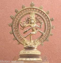 STATUE SHIVA NATRAJ- STATUETTE SHIVA NATRAJA - SHIWA  Statue de natraj en Bronze
