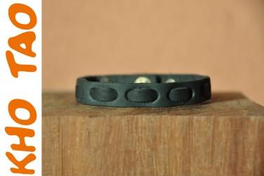 Bracelet cuir FINE SURPIQURE CUIR - Homme & Femme + DE 200 DESIGNS